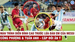 C.Phượng-Tuấn Anh từng khiến đồng đội Messi khổ sở thế nào ngay tại chảo lửa Mỹ Đình   HCMC Fan Zone