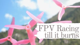 Vertical frame FPV racing - 2020 outdoor race training #7