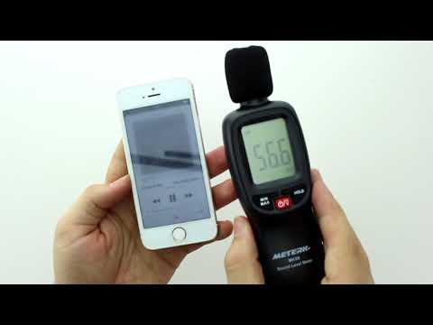 Unboxing Schallpegelmesser Meterk Schallpegelmessgerät Messrange 30-130 dB