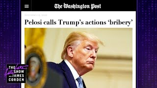 Today's Impeachment Word of the Day: Bribery