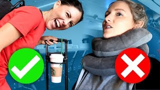 Testing TRAVEL HACKS at the Airport!