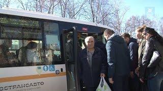 Члены Общественной палаты ВМР проверили работу городского транспорта