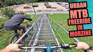 SICK URBAN MTB FREERIDE SPOTS IN MORZINE - FRENCH ALPS