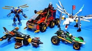 레고 닌자고 2015년 티타늄닌자고 전제품 빠른조립 동영상 レゴ ニンジャゴー Lego Ninjago 2015 All Stopmotion