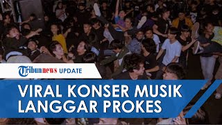 Viral Video Konser Musik di Cilandak Tanpa Protokol Kesehatan, Bermula dari Bazar UMKM yang Sepi