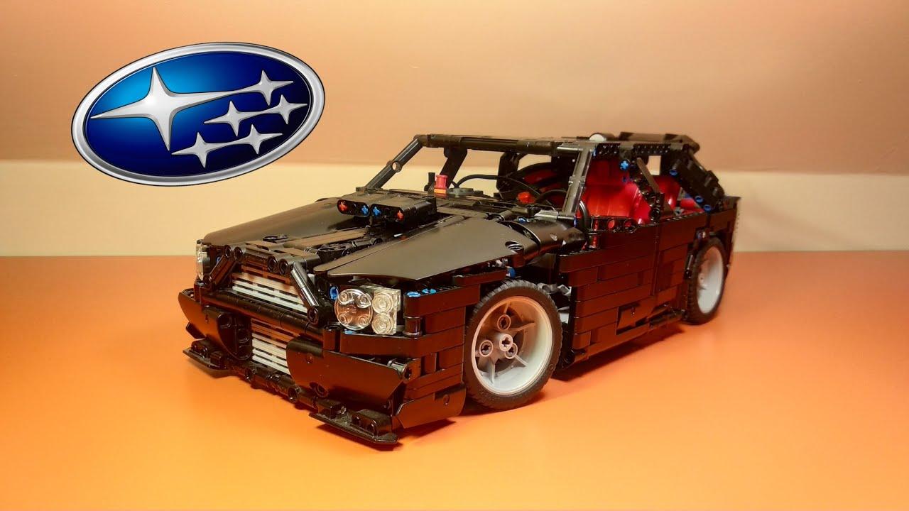 LEGO TECHNIC SUBARU IMPREZA WRX WAGON | MOC