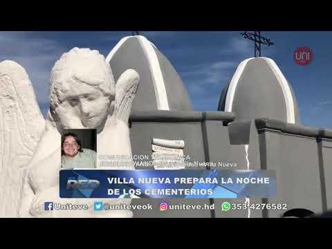 Villa Nueva prepara la noche de los cementerios