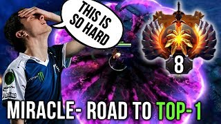 Miracle- Road to TOP-1 MMR in the World! Gameplay Compilation - Dota 2