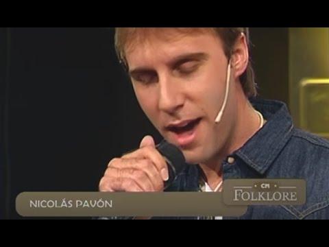 Nicolás Pavón video Sólo tu amor - CM Folklore 2015