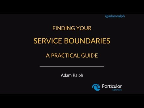 Finding your service boundaries: a practical guide