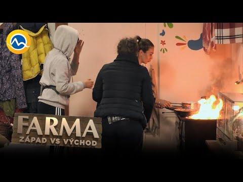 FARMA - Kristíne sa hra s ohňom vymkla z rúk: Takmer podpálila Farmu!