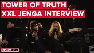 The Struts   Tower Of Truth (XXL Jenga Interview) | Live Nation GSA