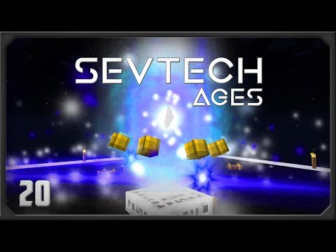 Sevtech Ages EP20 Astral Sorcery Flight +  Attunement