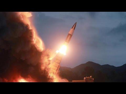 العرب اليوم - شاهد: كيم يشرف على اختبار راجمة صواريخ فائقة الحجم
