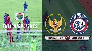 Arema FC (1) Vs (1) Timnas U22 - Full Highlight | Duel Timnas Indonesia