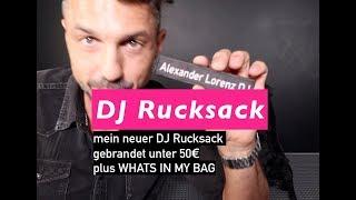 Neuer (DJ) Rucksack für unter 50€ | Whats In My Bag
