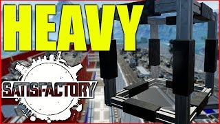 Satisfactory Gameplay | Heavy Frame Automation