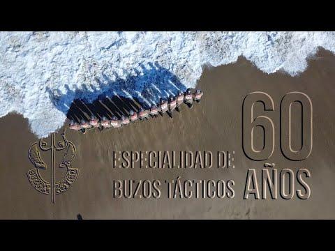 60 años de la especialidad de Buzos Tácticos