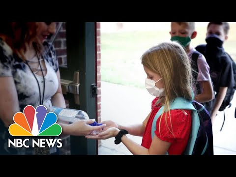 Return To School Raises Concerns Over In-Person Vs Virtual Learning | NBC News NOW