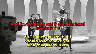 If I Fell (Original) - The Beatles (High Quality)