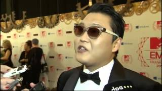 MTV's Europe Music Awards Go Gangnam Style With Psy
