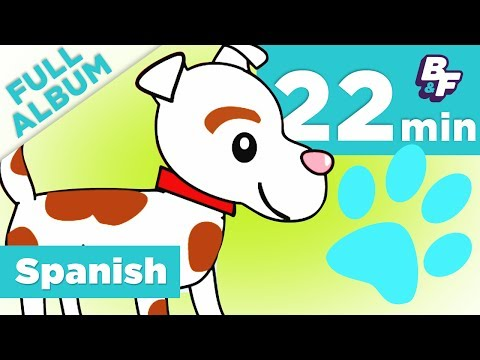 Learn Spanish Days, Alphabet, Animals, and More   En Español Complete Video Album