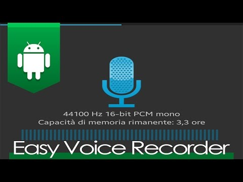 App of the Week #6 | Easy Voice Recorder - Miglior registratore audio