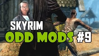 Skyrim Odd Mods #9 - OLYMPICS IN RIVERWOOD