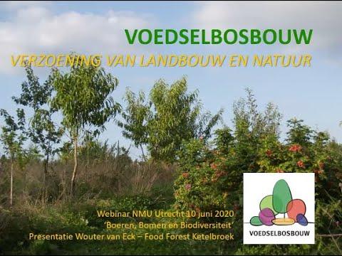 Webinar Voedselbossen / Agroforestry 2 - Wouter van Eck, Stichting Voedselbosbouw