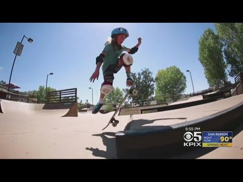 Petaluma's Minna Stess Is A Major Skateboarder