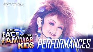 Your Face Sounds Familiar Kids: Alonzo Muhlach as Cyndi Lauper - Girls Just Wanna Have Fun