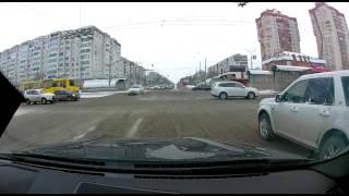 ДТП Казань 2016-03-14 - Перекрёсток Ямашева - Амирхана - Классика