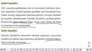 Eğitim Vadisi TYT Tarih 10.Föy Dünya Gücü; Osmanlı Devleti - 1 Konu Anlatım Videoları