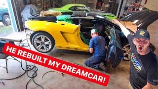 REBUILDING A WRECKED LAMBORGHINI IN RECORD TIME! *PROJECT COMPLETE*