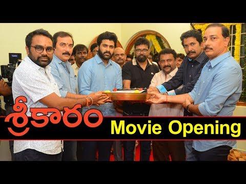 Sharwanand's Shreekaram Movie Opening Event