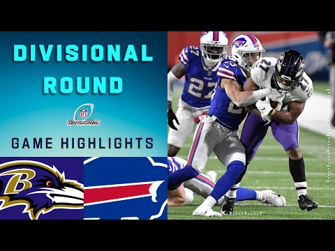 Ravens vs. Bills Divisional Round Highlights | NFL 2020 Playoffs