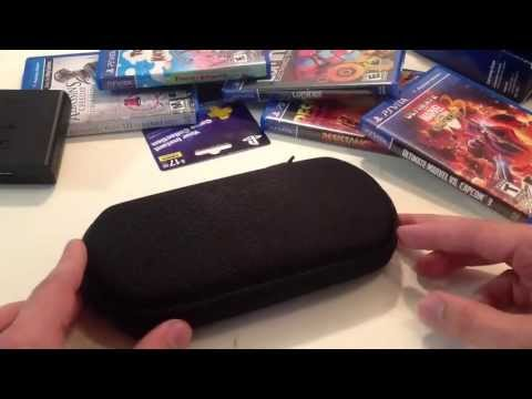 BEST PLAYSTATION VITA CASE OVERALL!! – Protective CTA Digital Travel EVA Case [Review]