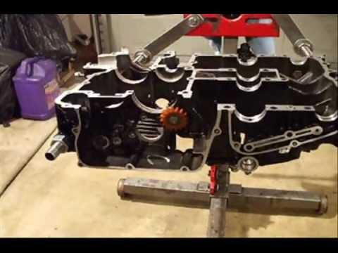 Vmax Motor zusammenbauen