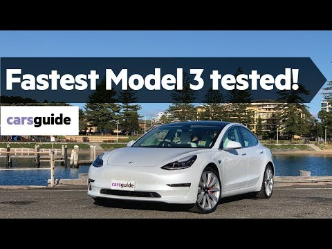 Tesla Model 3 2020 review: Performance