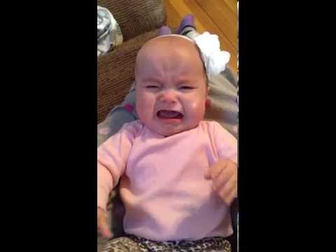 Babys crying but she needs to finish the job 8