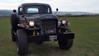 FOR SALE: 1952 Dodge Power Wagon Legacy Conversion From Legacy Classic Trucks