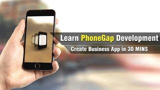 Learn PhoneGap Development | Making Business App in 30 Mins | Eduonix