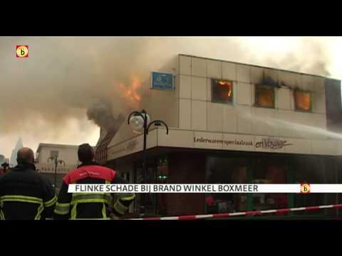 Uitslaande brand En Voyage in Boxmeer