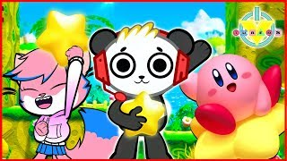Kirby Star Allies Let's Play with VTubers Combo Panda Vs Alpha Lexa