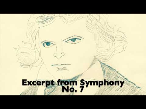 Excerpt from Beethoven's 7th Symphony with the SC Brass Band.