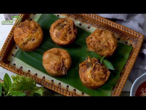 Bếp Cô Minh   Tập 96 - Hướng dẫn cách làm món Bánh Cống Miền Tây rất đơn giản