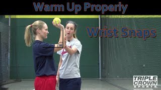 Warm Up Properly w/ Wrist Snaps - TCS Training Tips