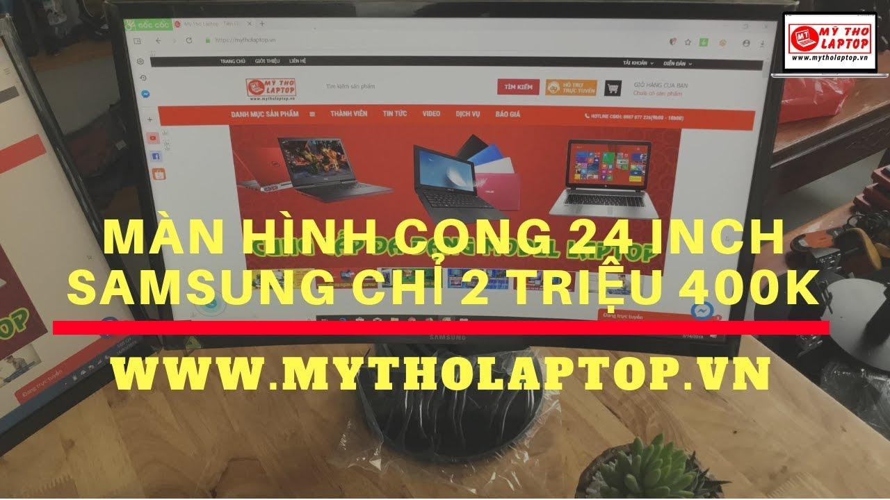 LCD Samsung 24 inch cong chỉ 2 triệu 400K