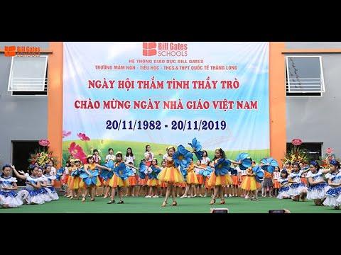 Tiết mục: Thầy cô là tất cả - Lớp Dance sport và Thanh nhạc - trường Tiểu học Quốc tế Thăng Long