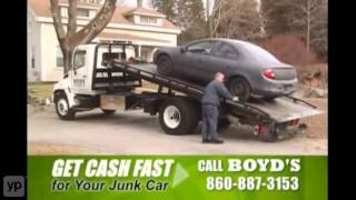 Norwich, CT | Boyds Used Auto Parts Inc. | Junk Car Buyers